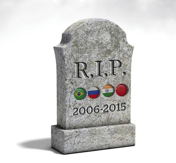 La muerte de los BRICs