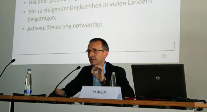 Entrevista a Stephan Klasen, profesor de economía del desarrollo (Universidad de Göttingen). Experto en pobreza, desigualdad, género y cambio climático