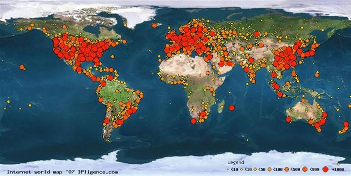 La brecha en el mapa